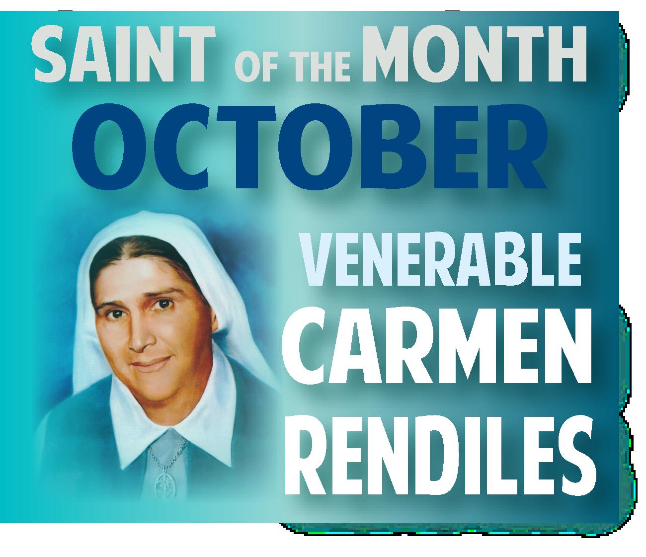 Saint of Month Oct CH